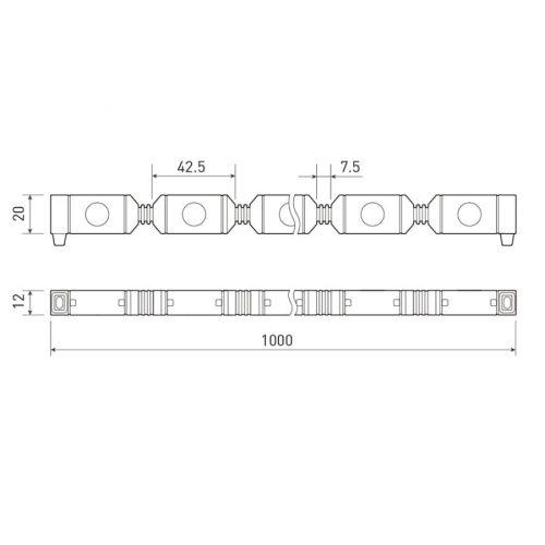 Гибкий прожектор AR-FLB-FLEX-1000-18W-220V Day 30deg (ARL, Закрытый)