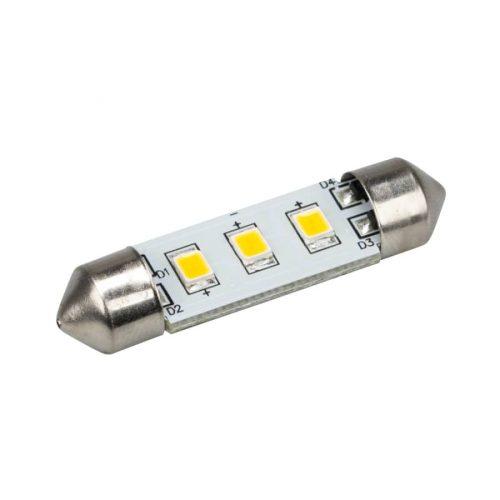 Автолампа ARL-F37-3E Warm White (10-30V, 3 LED 2835) (ANR, Открытый)
