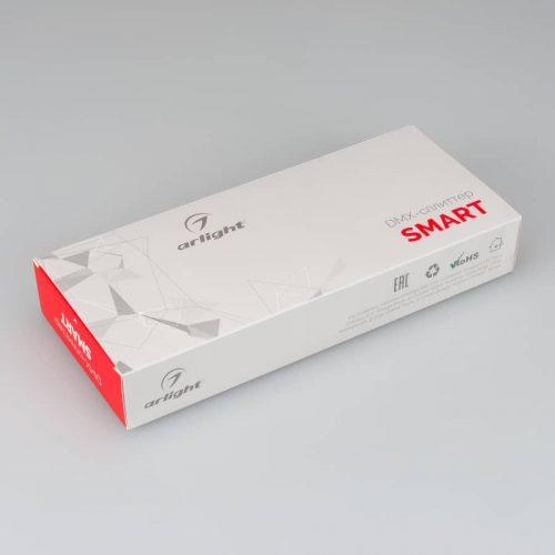 DMX-сплиттер SMART-DMX-4CH (12-36V, XLR3) (ARL, IP20 Металл, 5 лет)