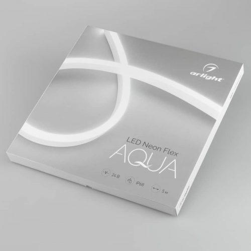 Герметичная лента AQUA-5000S-TOP-2835-120-24V Blue (16.5х16.5mm, 10W, IP68) (ARL, -)