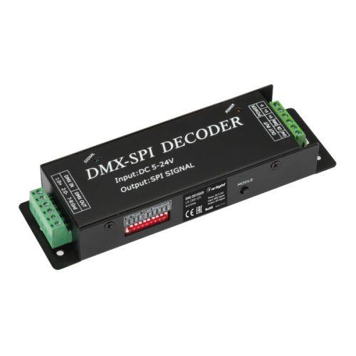 DMX-декодер LN-DMX-SPI (5-24V, 170 pix) (ARL, IP20 Металл, 1 год)