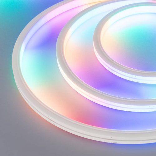 Герметичная лента DMX MOONLIGHT-5000S-TOP-5060-84-24V RGB (13х12mm, 18W, IP67) (ARL, 18 Вт/м, IP67)